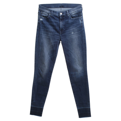 7 For All Mankind Jeans a Blue Washed