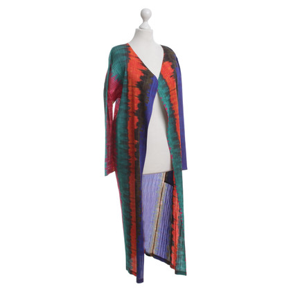 Issey Miyake Coat in multi colored