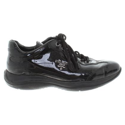 Prada Sneakers aus Lackleder