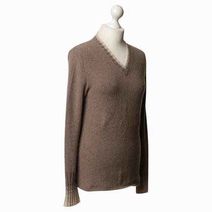 Iris von Arnim Cashmere sweater in Taupe