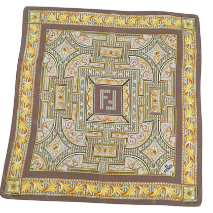 Fendi Foulard in seta 100% FENDI