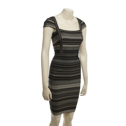 Herve Leger Kleid mit Muster