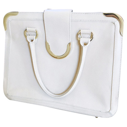 Aigner structured medium bag