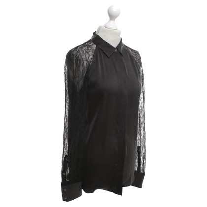 Equipment Black blouse with lace