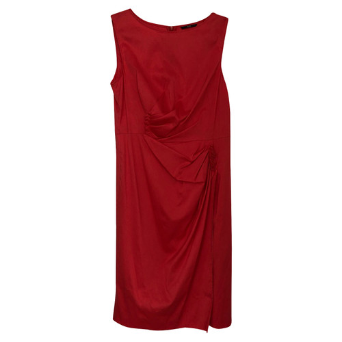 11cccb140e Hugo Boss Dress Cotton in Red - Second Hand Hugo Boss Dress Cotton ...