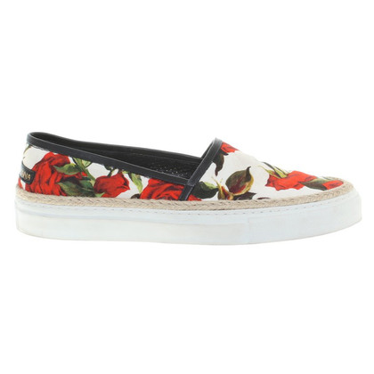Dolce & Gabbana Slipper with floral print