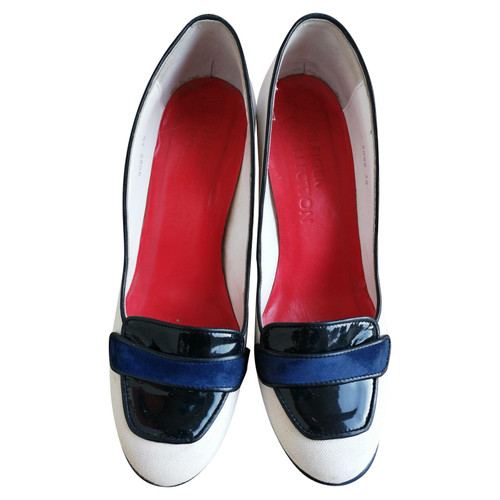 more photos e7805 6d5f8 Tommy Hilfiger Pumps/Peeptoes in Blau - Second Hand Tommy ...