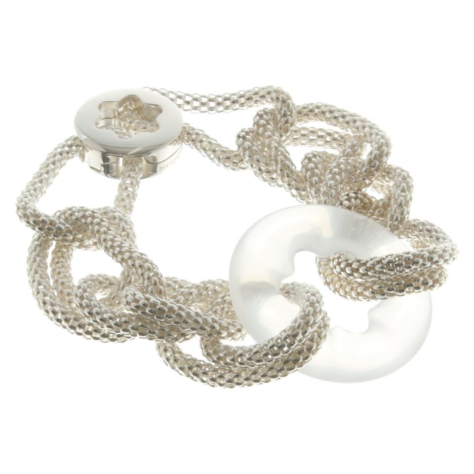 mont blanc bracelet en argent acheter mont blanc bracelet en argent second hand d 39 occasion. Black Bedroom Furniture Sets. Home Design Ideas