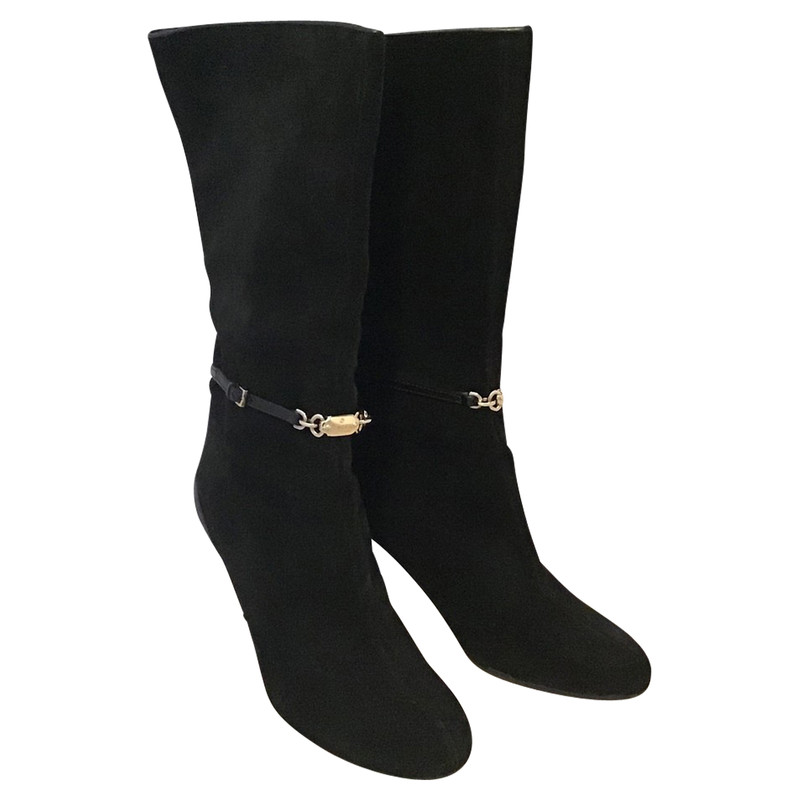 Gucci Ankle boots Suede in Black