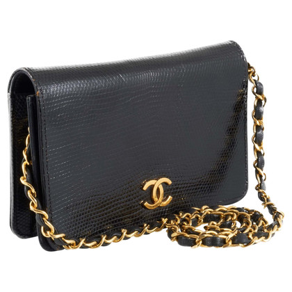 Chanel Mini Flap Bag lizard leather