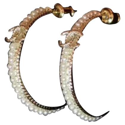 Chanel Geelgouden oorbellen