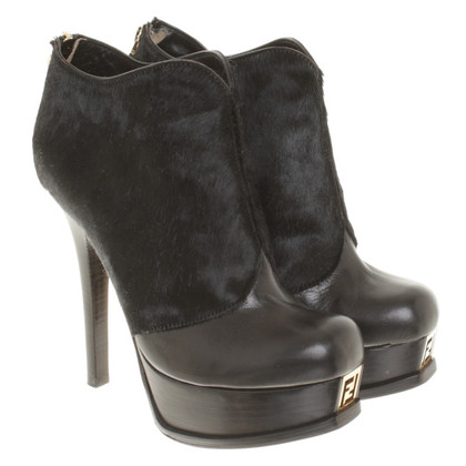 Fendi Boots in zwart