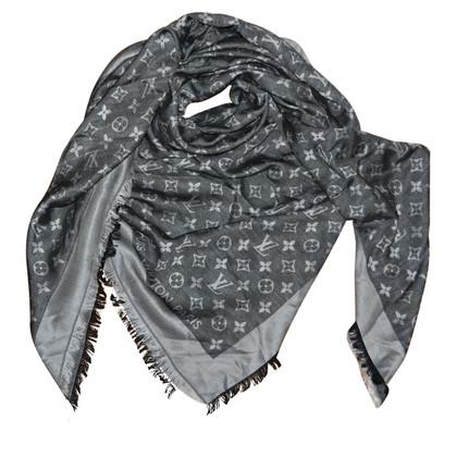 Louis Vuitton stola monogram denim nera