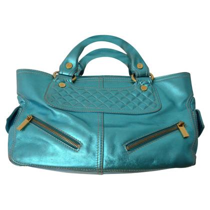 Céline Bowling Bag Handbag metallic