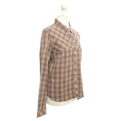 Lacoste Shirt blouse with check pattern