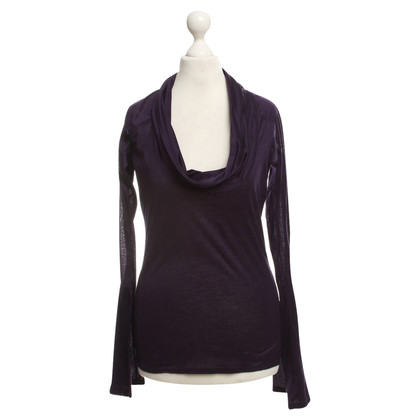 Gucci Cotton top in violet