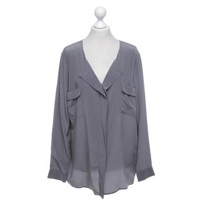 Steffen Schraut blouse de soie en gris