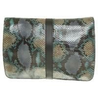 Aigner Handtasche aus Pythonleder