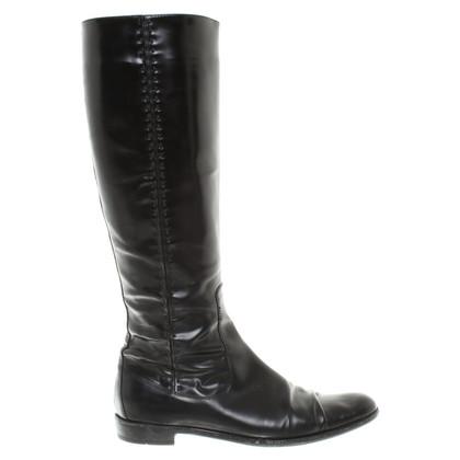 Jil Sander Boots in Black