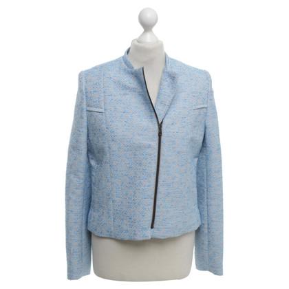 Lala Berlin Kort jasje in lichtblauw / beige