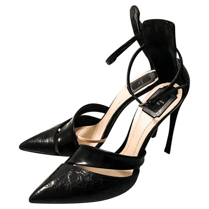 Christian Dior pumps made of crocodile leather