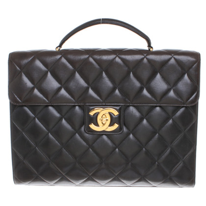 Chanel Briefcase in black