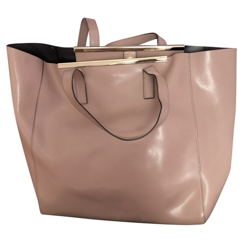 5a5c999301 Coccinelle Shopper Leather in Beige - Second Hand Coccinelle Shopper ...