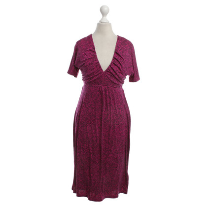 Allude Dress in Fuchsia