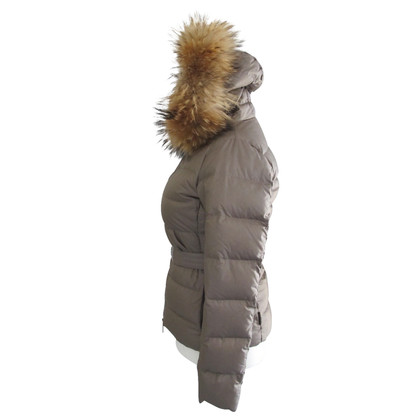 Moncler fur hoodie / Moncler belt