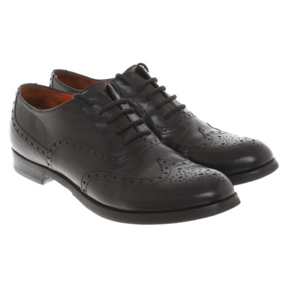 Santoni Lace-up shoes in black