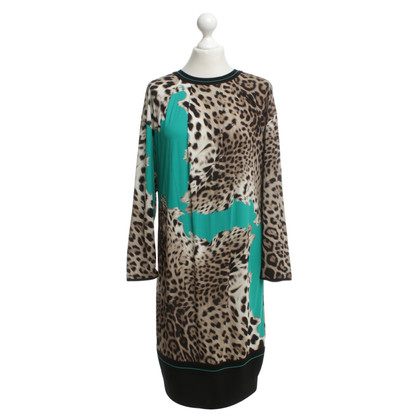 Roberto Cavalli Dress with leopard print