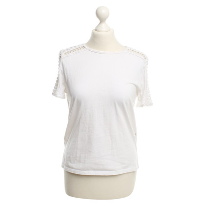 Maje T-Shirt in White