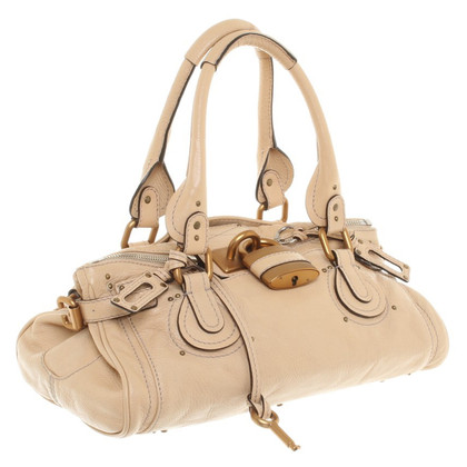 "Chloé ""Paddington Bag"" in Beige"