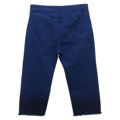 Isabel Marant Etoile 7/8 jeans in koningsblauw
