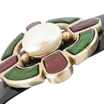Chanel Lackledergürtel  mit Malteserkreuz-Schnalle