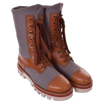 Dolce & Gabbana Boots in grey / Brown