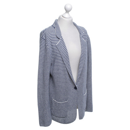 Max & Co Cardigan in blue / white