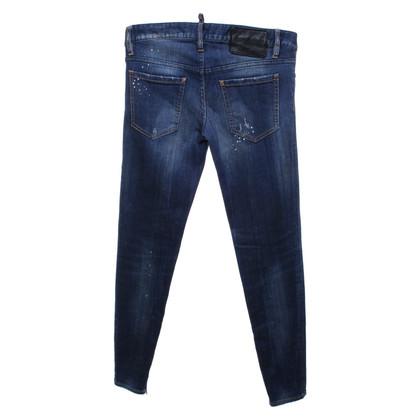 Dsquared2 Jeans in blu scuro