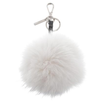 Fendi Porte-clés avec de la fourrure