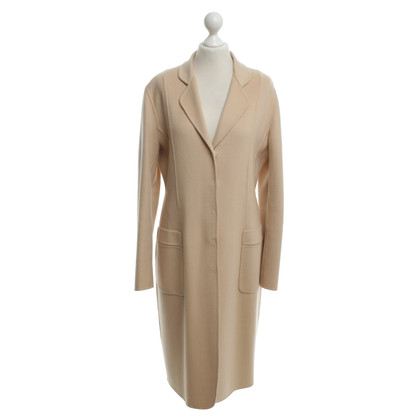 Iris von Arnim cappotto di cachemire in beige