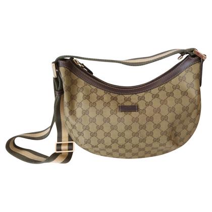 Gucci Opperste GG stof schoudertas