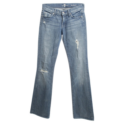 7 For All Mankind Jeans met decoratieve stenen