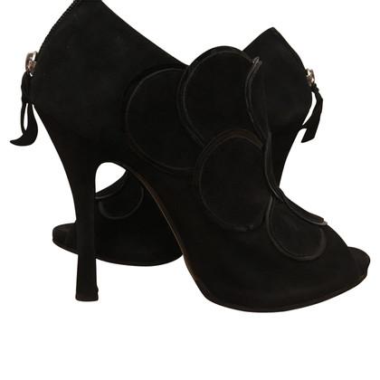 Pollini Peeptoe ankle boots
