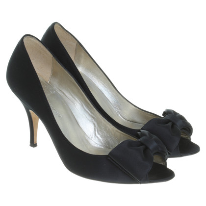 L.K. Bennett Peep-toes in black