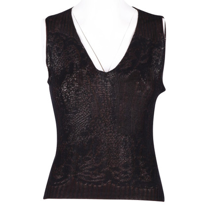 Dries van Noten knitted top with jacquard effect