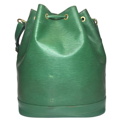 """Louis Vuitton """"Grand Noé Epi leather"""" in green"""