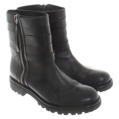 Max & Co Biker boots in black