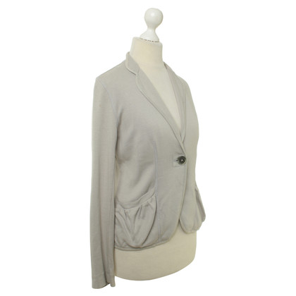 Joe Taft Jersey-Blazer in Grau