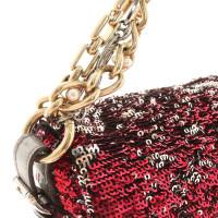 Dolce & Gabbana Handtasche mit Paillettenbesatz