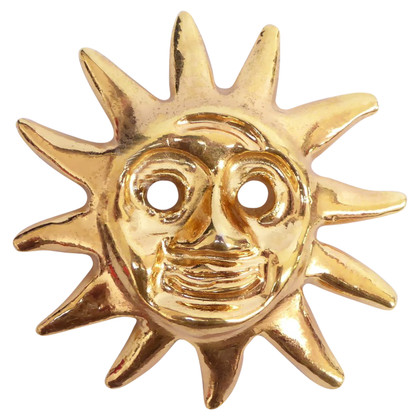 Christian Lacroix Brooch with sun motif